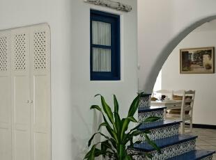 地中海风楼梯