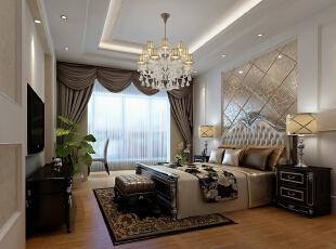 新天嘉园——140平欧式现代风格三居室
