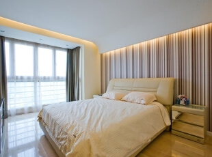 舒适的简约卧室