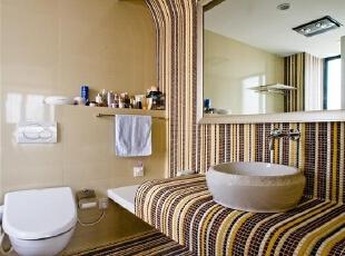 简约的舒适洗浴间