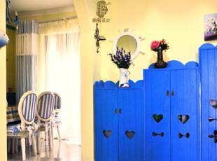 蓝黄白编织浪漫地中海