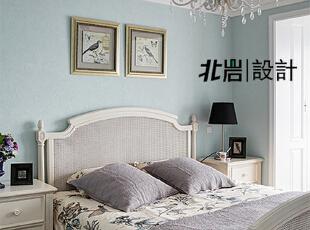 清新女儿房,女儿房,美式,卧室,