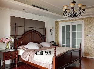 开阔的主卧室,卧室,美式,
