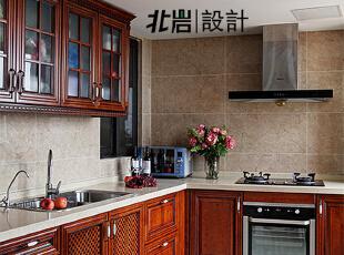 厨房橱柜,厨房,美式,