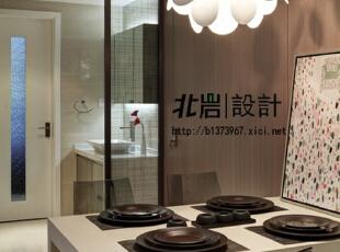洗手间干湿分离,餐厅,现代,