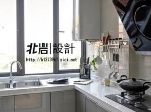 厨房简洁明了,厨房,现代,