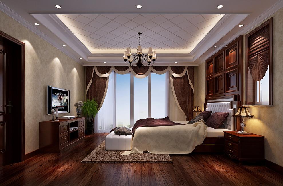150.0平米复式欧式风格-谷居家居装修设计效果图
