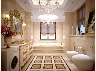 卫生间内采用纯色瓷砖作为装饰,给户主带来清新洁净的感受,洗漱台采用双人式的装饰,可以满足夫妻两同时使用卫生间的需求,美好的清晨一起来迎接。,卫生间,