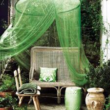 蚊帐早准备 入夏床幔美设计