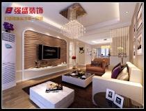 10万打造105平现代风格三居室
