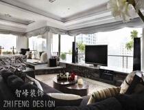 10万打造140平现代风格三居室