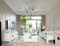 8万打造110平中式现代风格公寓