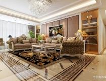 恒盛豪庭—10万打造150平现代风格两居