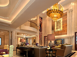 40万打造200平欧式风格别墅