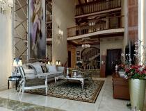 翠堤湾——20万打造250平米别墅美式风格