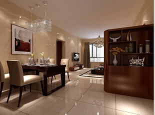 10万打造140平简约风格三居室