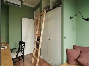 清新的现代卧室