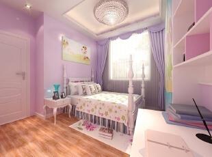 男女儿童房-50平米两居现代风格