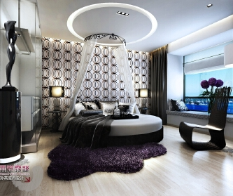 时尚浪漫风格样板房