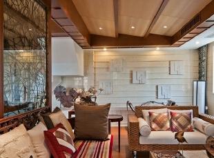 30万打造265平中式风格别墅