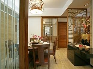 新中式-华润悦府135平米三居中式风格
