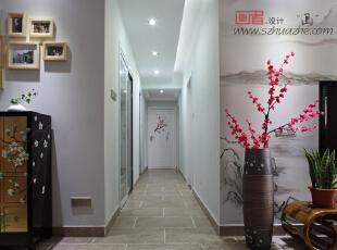 百花公寓-中式三居-谢谢暗香浮动