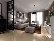 东方新世界125平三居室现代简约风格