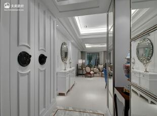 新古典大户型-黃書恆/台北玄武設計 未來之光樣板房