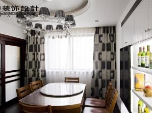 尚城国际159平四居室现代简约风格