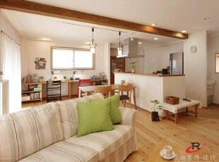 10万打造92平两居室日式风格
