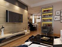 2居室现代风格-惠居打造