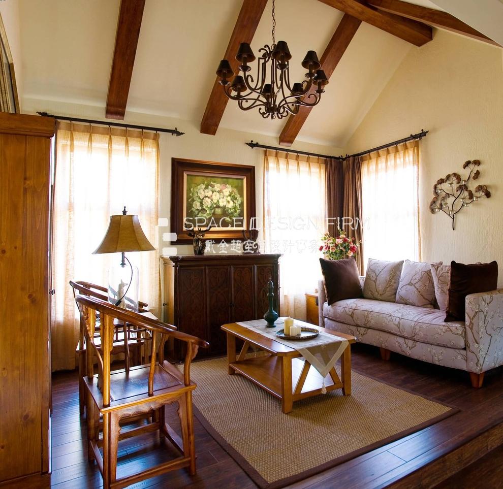 美式南加州风格别墅设计案例亲近自然的阳光房
