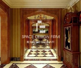 英式风格 别墅设计案例-...