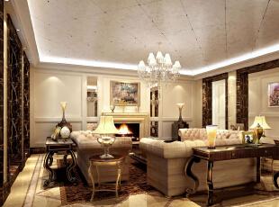 北京MOMA万万树205平四居室新古典风格