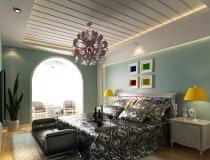 鸿运花园170平三居室现代简约风格
