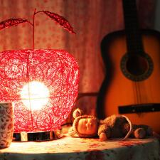 精美灯具  小屋如何装修才有个性