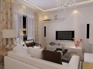 熙悦山85平两居室简约风格
