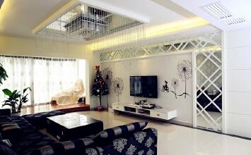 洪城东方国际——『温暖空间』简约风_91平米三居室