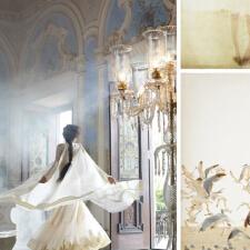 奶油色客厅,优雅凝聚成记忆。