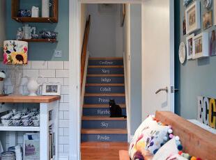 简约异域  字母楼梯