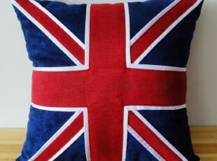 纯手工 遇见英伦 非相 欧美时尚 布艺手工缝制抱枕靠垫套,靠垫,
