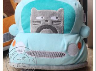 可爱kamkam猫猫抱枕靠枕卡通创意靠垫汽车家居香港ZENSE正品包邮,靠垫,