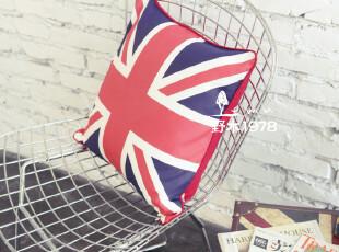 英伦风情 米字旗抱枕靠枕 靠垫 垫子 英国国旗,靠垫,