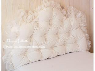 韩国design-julliette*奢华定制*皇室风*舒适床头靠枕1914,靠垫,