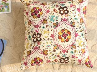 办公室沙发抱枕靠枕靠垫 抱枕套靠枕套靠垫套 缤纷夏日之花,靠垫,