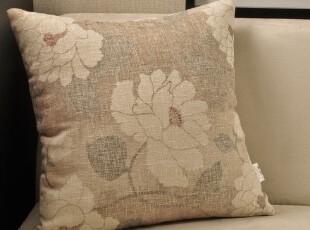 EMMA 沙发靠垫/靠垫套/抱枕/抱枕套/靠枕 不含芯 亚麻 中式古典,靠垫,