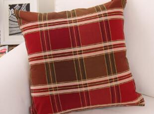 纯棉色织提花/靠垫套/靠枕套/抱枕套【格鲁斯】系列,靠垫,