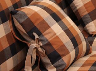 地中海 棉麻 格子 抱枕/靠垫/靠枕/靠包/靠垫套 骑士系列,靠垫,