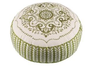 澳洲精品代购KAS Australia高档日式圆形绣花靠垫 抱枕,靠垫,