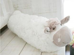 『韩国网站代购』咩咩~可爱卷卷毛小绵羊靠垫抱枕,靠垫,